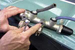 vw bug brake light switch replacement