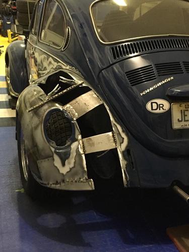 Stickers Decals for Volkswagen VW Beetle classic model door 1960 1970 side step