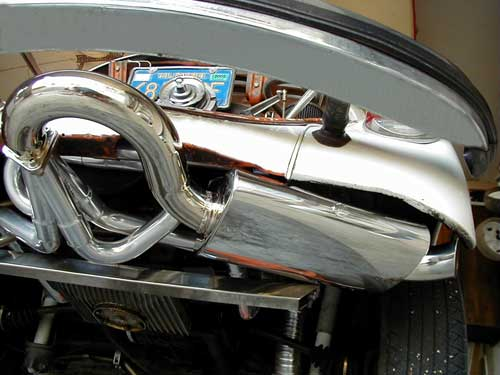 Performance Exhaust Systems: Vw Bug Custom Exhaust At Woreks.co
